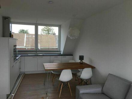 Helle, ruhige Galeriewohnung mit Sonnen-Loggia | Awesome new flat in Aachen