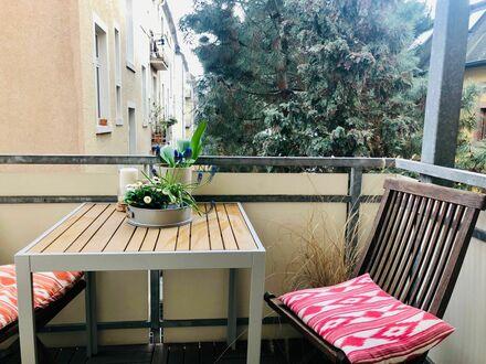 Traumhafte 2 Zimmer Altbauwohnung mit Balkon in Sachsenhausen-Nord | Cozy & nice suite close to city center