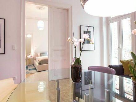 Geschmackvoll eingerichtete Wohnung im Wiesbadener Westend | Spacious Apartment in Downtown Wiesbaden