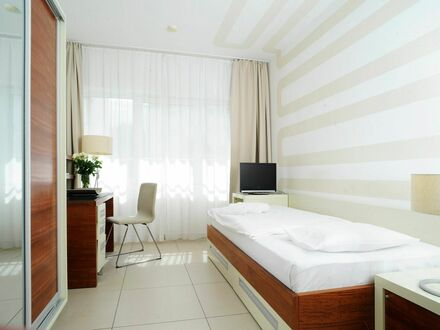 Serviced Apartment inklusive kostenliosem WLAN und Stellplatz | Serviced Apartment including free WLAN und Parking