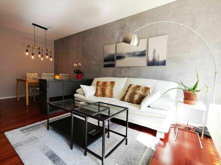 Exklusive hochwertige design Wohnung mit Tiefgarage Parkplatz nahe Isar im Zentrum von München | Amazing design loft with…