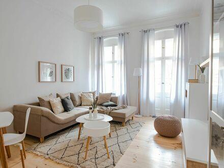 Bild_Erstbezug einer möblierten 3-Zimmer Wohnung mit Einbauküche in Friedrichshain, Berlin | furnished 3-room home in Friedrichshain (Berlin)