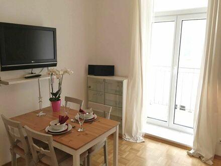Gemütliche möbilierte 1,5 Zi-Whg mit Vollausstattung im Westend | Spacious apartment in München