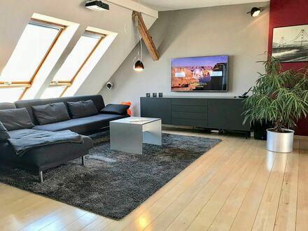 Stilvolle Maisonette-Wohnung im Kreuzberger Bergmannkiez | Stylish duplex apartment in Kreuzberg