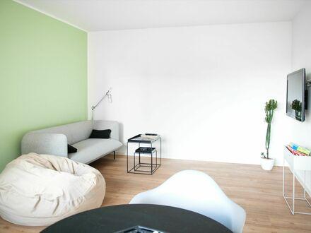 Hochwertig möblierte 2-Zimmer Wohnung im Szeneviertel Unterbilk | High-quality furnished 2-room apartment in popular district…