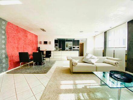 Hervorragend ausgestattete Luxuswohnung in Bestlage mit Full-Service | Luxury loft-suite in Mannheim