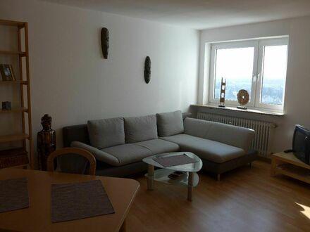 Schön eingerichtete Wohnung mit Blick über Erlangen | Nicely furnished apartment with view over Erlangen