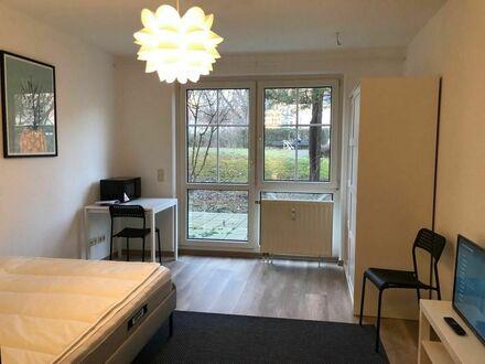 Ruhiges und schönes Apartment mit Garten-Terrasse im Herzen von Leipzig | Nice & pretty home in Leipzig