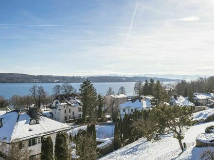 Traumhafte 2-Zimmer Wohnung mit Seeblick auf Zeit in Starnberg | Fantastic 2-room apartment with lake view on time in Starnberg