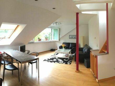 Ruhige und helle möblierte Wohnung in Bonn-Mehlem mit Blick auf das Siebengebirge | Nice & spacious home with nice neighbours