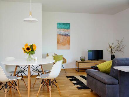 Traumwohnung: 2 Zimmer Luxus Neubau Stadtmitte | Dream apartment: 2 rooms first occupation luxury new building city centre