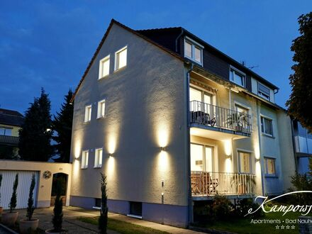 Kampowski Apartments Bad Nauheim **** | Exklusives Apartment in Top-Lage - vor den Toren Frankfurts | Kampowski Apartments…