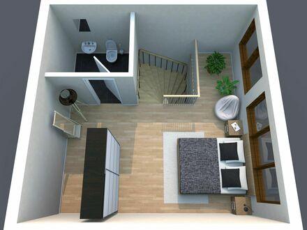 Modernes, voll ausgestattes Maisonette-Apartment in bester Lage in der Leipziger Innenstadt | Modern, fully equipped duplex…