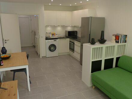 Liebevolles Apartment, verkehrsgünstige Lage, 500 m S-Bahn, Süd Balkon, Parkplatz, löffelfertig | Lovingly apartment, conveniently…