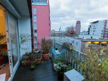Helle 4-Zimmer Wohnung mit Main-Blick (Balkon) und unmittelbare Stadtnähe (15Minuten zu Fuß)/EZB (2min) | Bright 4-room Apartment…