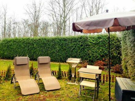 Nähe BionTech, Uniklinik + KKM: Modern eingerichtete Wohnung zum wohlfühlen mit Garten und Sauna | Near BionTech, University…