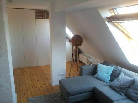 Traumhafte Dachgeschosswohnung in Linden | Awesome, modern studio in Linden