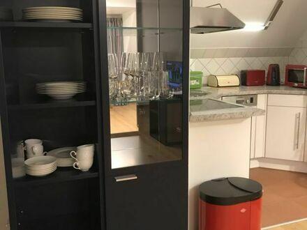 Hochwertig möblierte Wohnung mit Home Office | Spacious suite with home office in Dresden