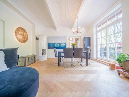 Schmuckstück für Liebhaber: 2,5-Zimmer-Altbauwohnung in München, Fachwerkvilla - Prinz-Ludwig-Höhe in Solln | Awesome 2,5-room…