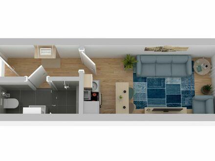 1-Zi Business Apartment - Gemütlich und Hochwertig - Erstbezug nach Sanierung | 1-Room Business Apartment - Cozy and High…