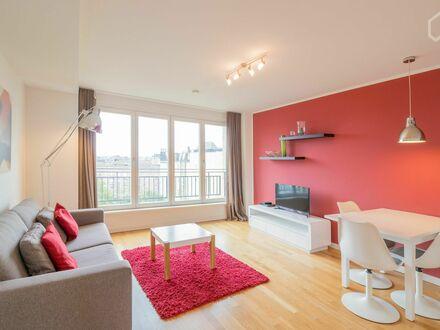 Stilvolle Wohnung auf Zeit mit schöner Aussicht, Hamburg (Smart Typ 1) | Fashionable suite in vibrant neighbourhood, Hamburg