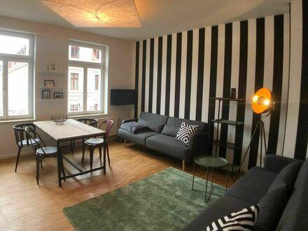 Künstlerisches und schickes Apartment im Herzen von Leipzig | Spacious, artistic home in Leipzig