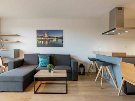 Wunderschön eingerichtetes Apartment mit offener Küche und Balkon | Beautifully furnished apartment with open kitchen and…