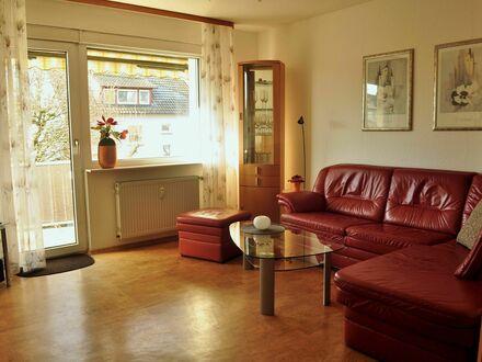 Geschmackvoll eingerichtete Wohnung mit Südwest-Balkon und gemeinsamer Gartenterrasse | Elegantly furnished apartment with…