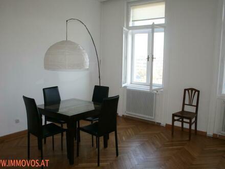 ***FRIEDENSBRUECEKE U4: HELLE 102m² Whg+Balkon***