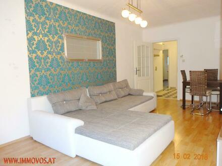 ++ Mit LOGGIA: teilmöblierte, feine Wohnung mit Grünblick Ecke Meidl.Hauptstraße