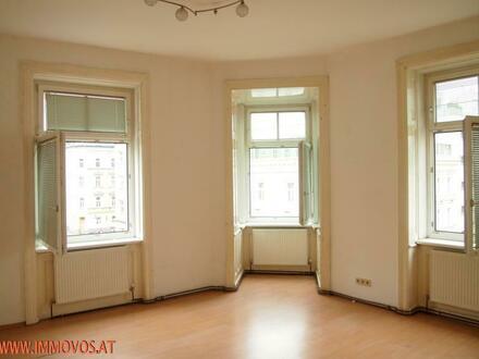 Sonnige Eckwohnung mit Erkerzimmer in unmittelbarer Nähe zum Reumannplatz/U1: UNBEFRISTET