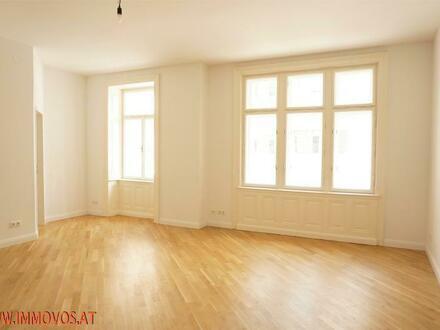 Nächst Belvedere/Botschaftsviertel: Modern designte 3 Zimmer Altbau-Wohnung im Palais Mommsen