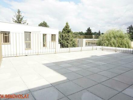 33 m2 Traumterrasse + Erstbezug im grünen Rodaun: 3 Zimmer Wohnung mit sonniger Freifläche zu vermieten + Garagenplatz