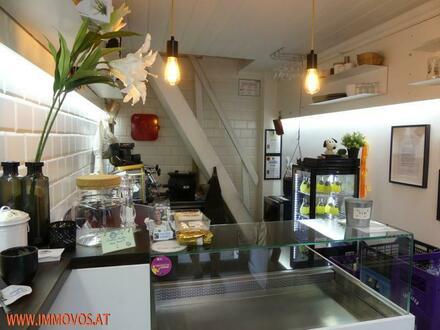 GUT GEHENDES CAFE (IMBISS) NÄHE MQ - NASCHMARKT