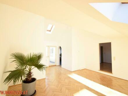 NÄCHST U3: Hagenmüllergasse schöne Dachterrassenwohnung auf einer Ebene