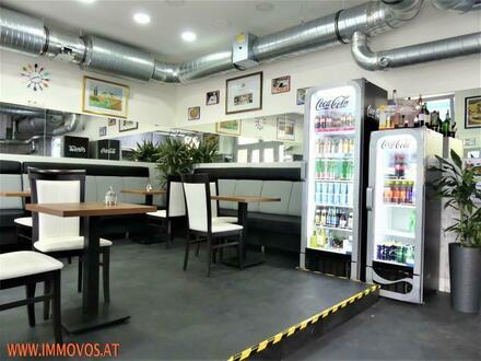 +++ In fabelhafter Wiener Best-Lage: Sehr gut integriertes Pizza/Kebap-Restaurant +++