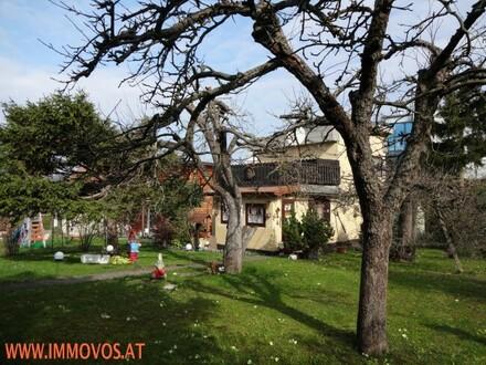 ++ AM SONNENPLATZ: KLEINGARTEN-BAUGRUNDSTÜCK mit Abbruchhaus