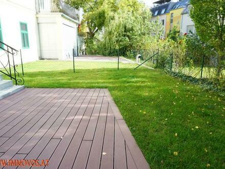 Sonniger Eigengarten und gemütliche Süd-Terrasse: Den Frühling in Pötzleinsdorf genießen !