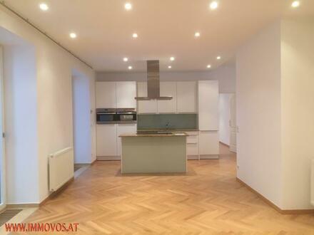 Exklusive 4-Zimmer Wohnung mit zwei Balkonen – Donau und Millennium City vor der Tür!