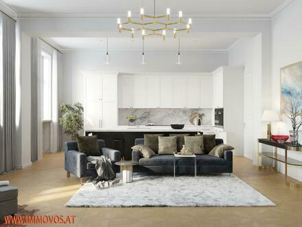 Elegantes Wohnen Nähe Ringstrasse in prachtvollem Jahrhundertwendehaus