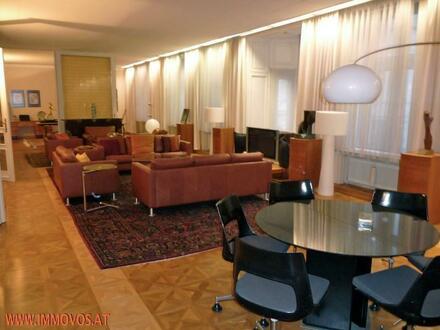 Vollmöblierte ca. 256 m2 Luxus Altbauwohnung im Zentrum Wiens, Nahe Karlskirche ... Ihr neues Zuhause!