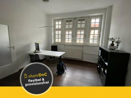 Kleines Büro zum Teilen in Gemeinschaft - All-in-Miete