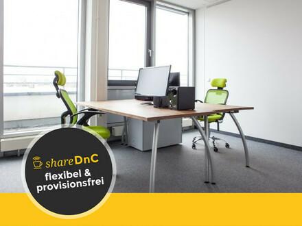 Voll ausgestattete Büroräume im modernen Penthouse-Büro - All-in-Miete