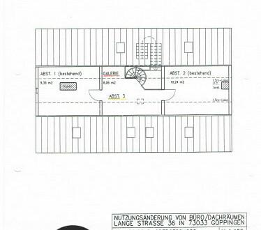 Einzigartige Büroetage in der Dachgalerie eines Fachwerkhauses - All-in-Miete