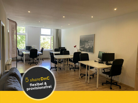 Arbeitsplätze und Büroraum zentral gelegen zu günstigem Preis - All-in-Miete