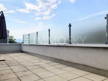 Sonnige Dachgeschosswohnung mit riesiger Terrasse