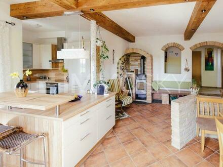 Aussergewöhnliche Doppelhaushälfte - bezaubernde, ländliche Lage!!!