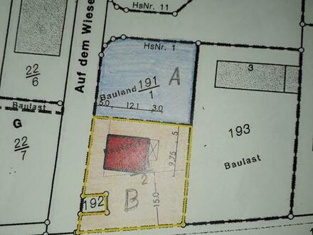 Aus Zwei mach Eins 1559qm Grundstück Provisionfrei in Hamm am Rhein
