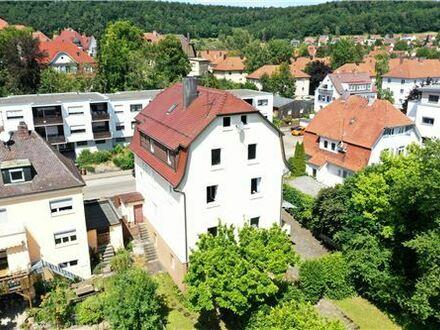 REMAX - Keine Käuferprovision! Wohnhaus mit 2 Wohnungen + Ladeneinheit – Zentrumsnah – großer Garten – Schloßblick