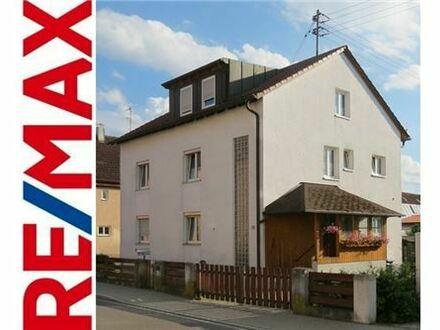 REMAX - Mehrfamilienhaus mit 3 Wohneinheiten in attraktiver Lage in Illertissen - Kernstadt